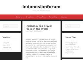 indonesianforum.info