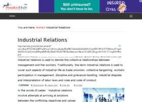 industrialrelations.naukrihub.com