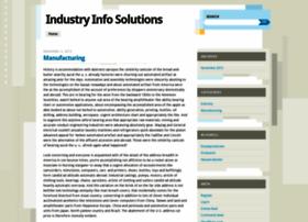 Industryinfosolutions.wordpress.com