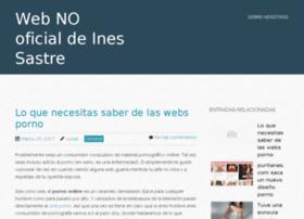 ines-sastre.es