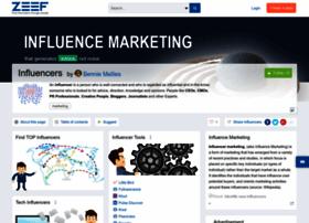 influencers.zeef.com