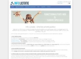 info-licitatie.ro