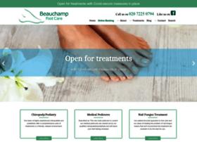 info.beauchampfootcare.com