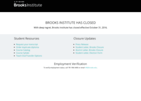 info.brooks.edu