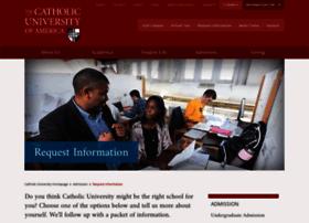info.cua.edu