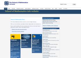 info.maths.ed.ac.uk