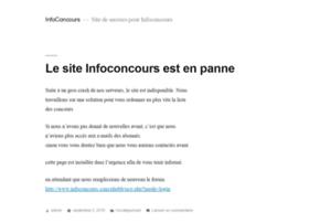 infoconcours.com