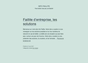 infofaillite.fr