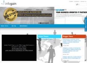 infogain.cubewires.com