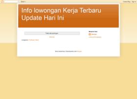 infolowongankerja-terbaru.blogspot.com
