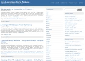 infolowonganterbaru.com