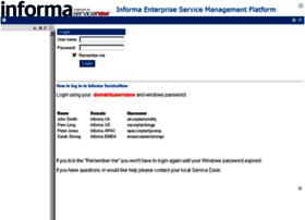 informa.service-now.com