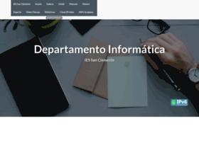 informatica.iessanclemente.net