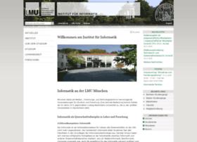 informatik.uni-muenchen.de