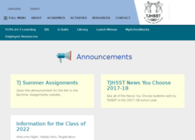 information.tjhsst.edu