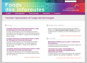 inforoutes.francophonie.org