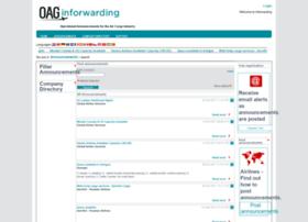 inforwarding.oagcargo.com