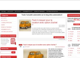 infos-automobile.fr