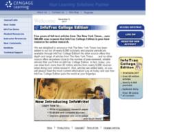 infotrac.thomsonlearning.com