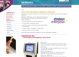 infotronics com info employee time and attendance software solutions