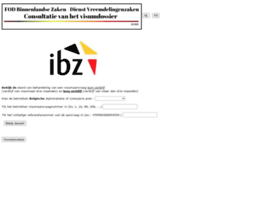 infovisa.ibz.be