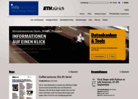 infozentrum.ethz.ch