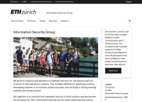infsec.ethz.ch
