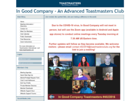 ingoodcompany.toastmastersclubs.org