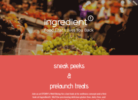 ingredient1prelaunchparty.splashthat.com