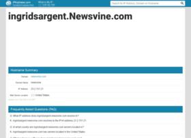 ingridsargent.newsvine.com.ipaddress.com