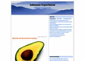 inhumanexperiment.blogspot.com