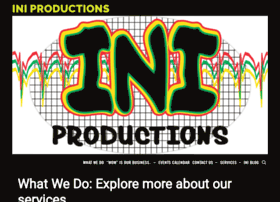 iniproductions.com