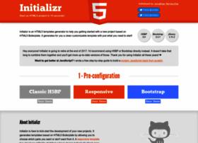 initializr.com