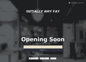initiallyamyfay.com