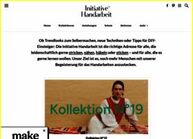 initiative-handarbeit.de