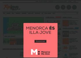 injovemenorca.com