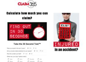 injuryclaim.claim365.com