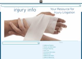 injuryinfo.com