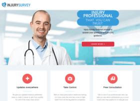injurysurvey.com