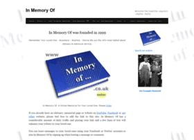 inmemoryof.co.uk