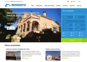 inmobiliariabenedito.com