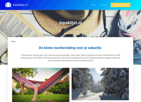 inpaklijst.nl
