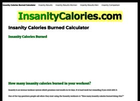 insanitycalories.com