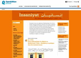 insaniyat.revues.org