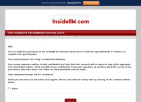 insideiimrecruitmentsurvey2014.questionpro.com