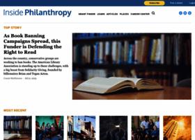 insidephilanthropy.com