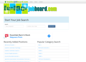 insiderjobboard.com