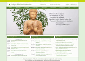 insightmeditationcenter.org