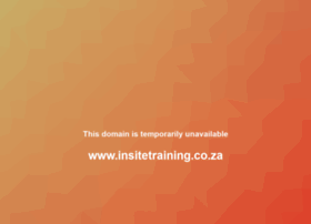 insitetraining.co.za