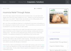 insomniasolution.org